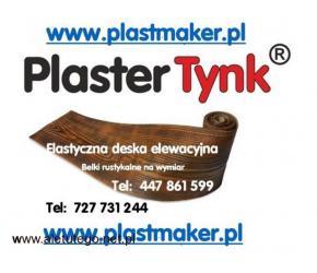 Imitacja drewna na elewacje ,PlasterTynk - Elastyczne deski elewacyjne